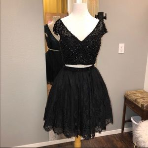 NWT Sherri Hill two piece cocktail